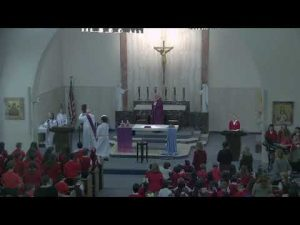 Ash Wednesday School Mass