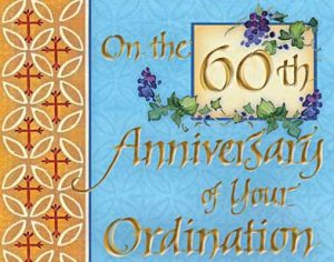 Msgr. Jeremiah O'Sullivan's 60th Anniversary to the Priesthood