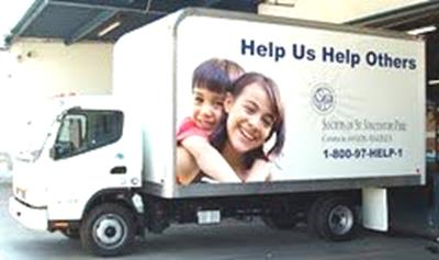 St. Vincent de Paul Donation Truck