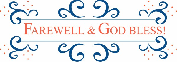 Image result for farewell god bless