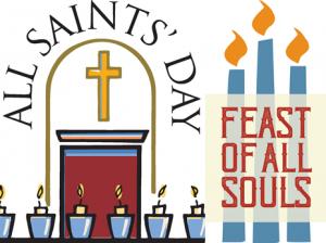 All Saints' & All Souls' Mass Times