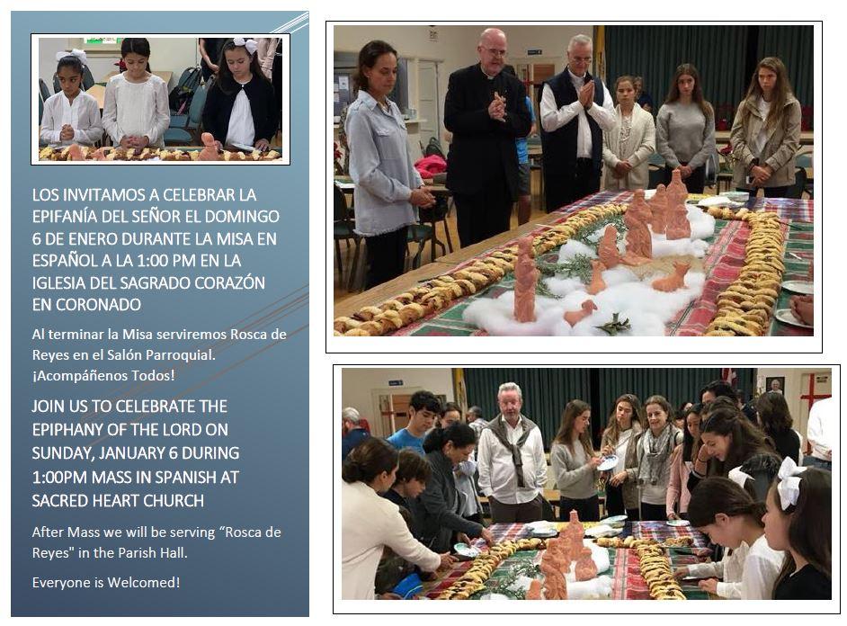 Spanish Mass and Reception (Rosca) - Sacred Heart Coronado