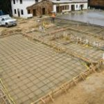 Watch the Chapel and Parish Hall Slab Pour Time Lapse