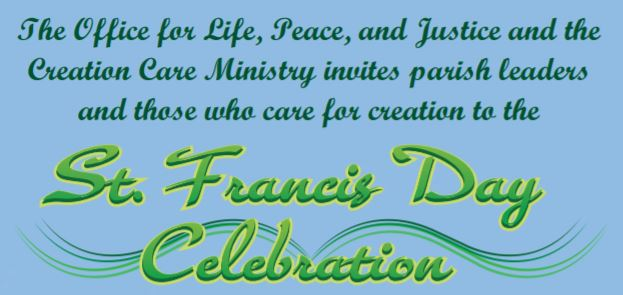St. Francis Day Celebration at the Pastoral Center