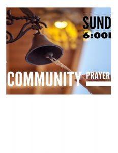 Pray Out at 6PM